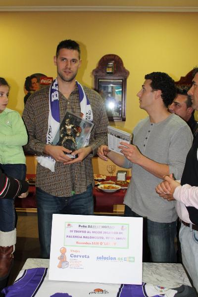 Ian O'Leary ha sido el último vencedor del Trofeo Basket Morao, ahora en la ACB