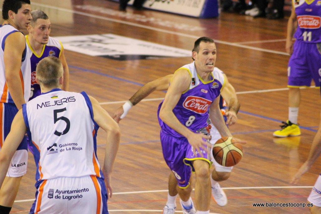 Bravo en el partido del viernes. Foto www.baloncestoconp.es