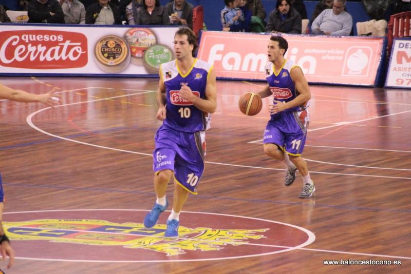 Urko lideró al equipo y la afición así lo reconoce. Foto Baloncestoconp.es