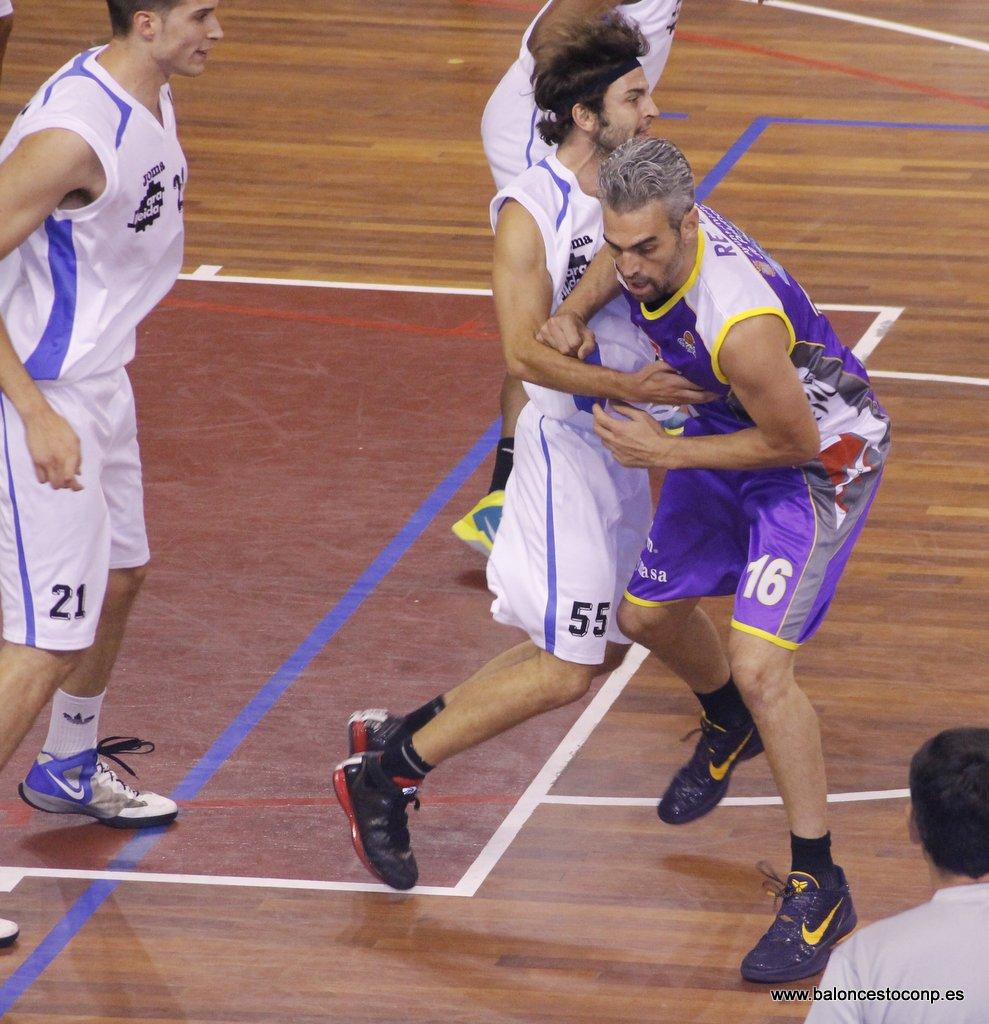 Guillermo Rejón, ganador de la 1ª jornada del VI Trofeo Basket Morao. Foto www.baloncestoconp.es
