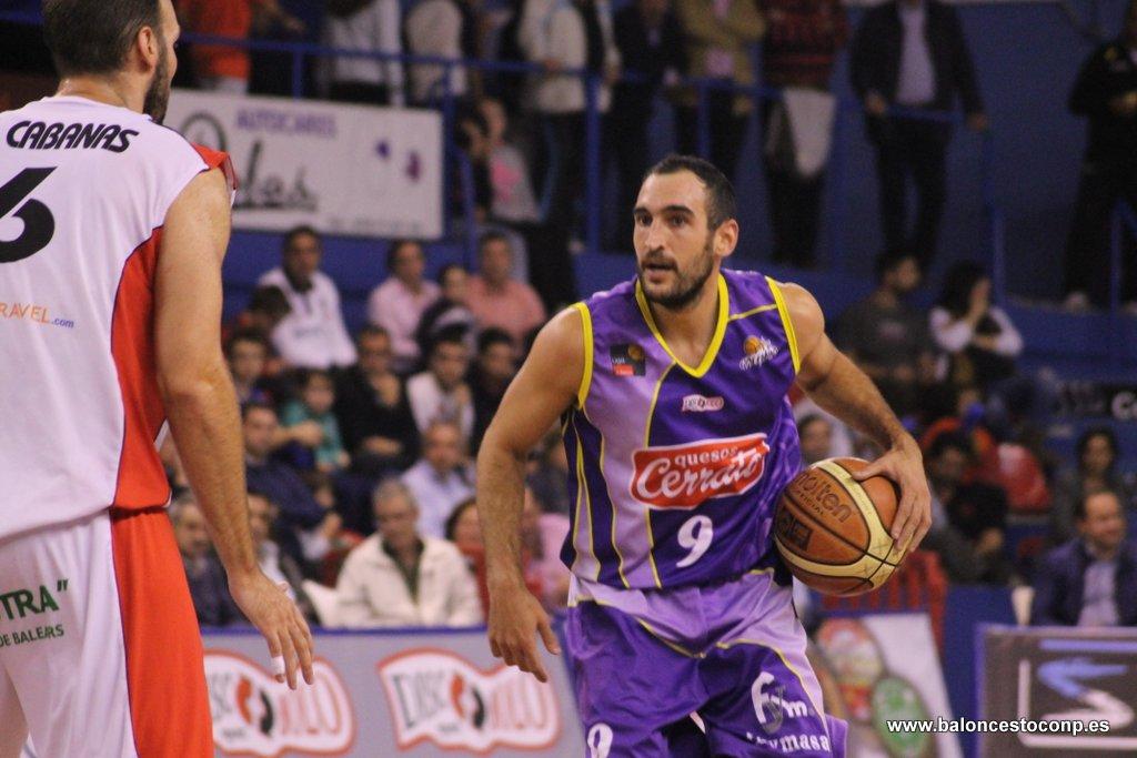 Dani Rodríguez, el mejor de la segunda jornada del Trofeo. Foto Baloncestoconp.es