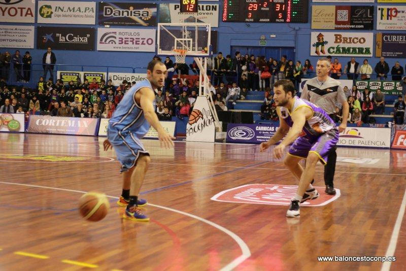 Forcada en su mejor partido de la temporada. Foto Baloncestoconp.es