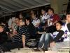 Instantes previos al partido en León