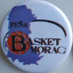 Chapa grande de la Peña Basket Morao