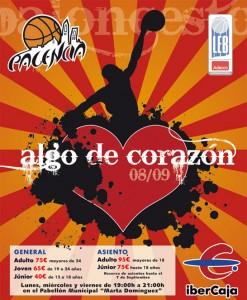 Cartel campaña de socios de Faymasa Palencia