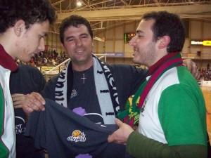 Frente Verde de Plasencia y Basket Morao, compartimos un buen rato de baloncesto