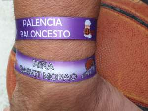 Así son las pulseras de la Peña Basket Morao